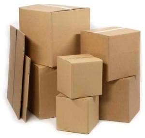 упаковка в картонные коробки